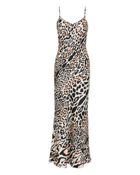 Elpis Printed Slip Dress