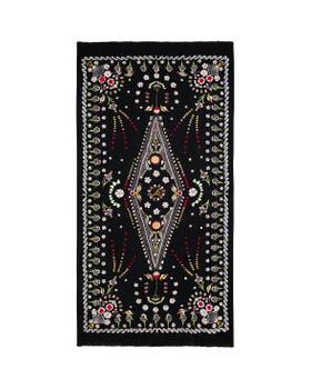 Teddy Embroidered Shawl