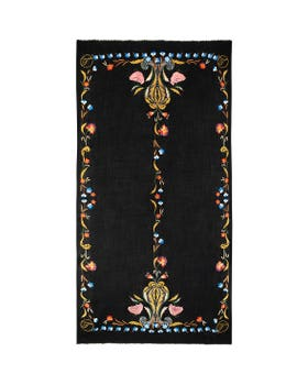 Toledo Embroidered Scarf