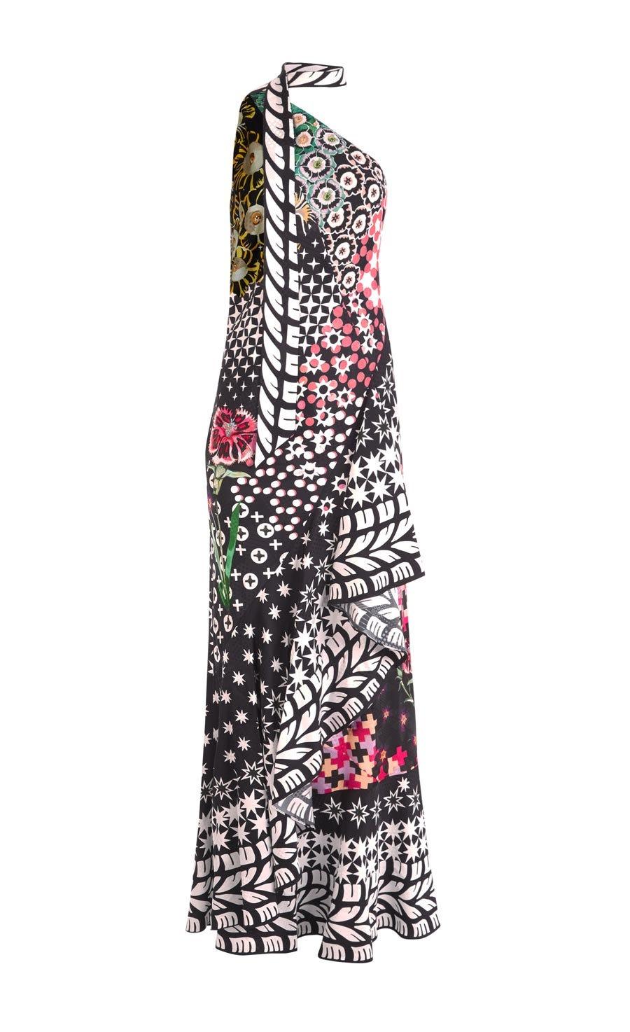 Claudette One Shoulder Dress