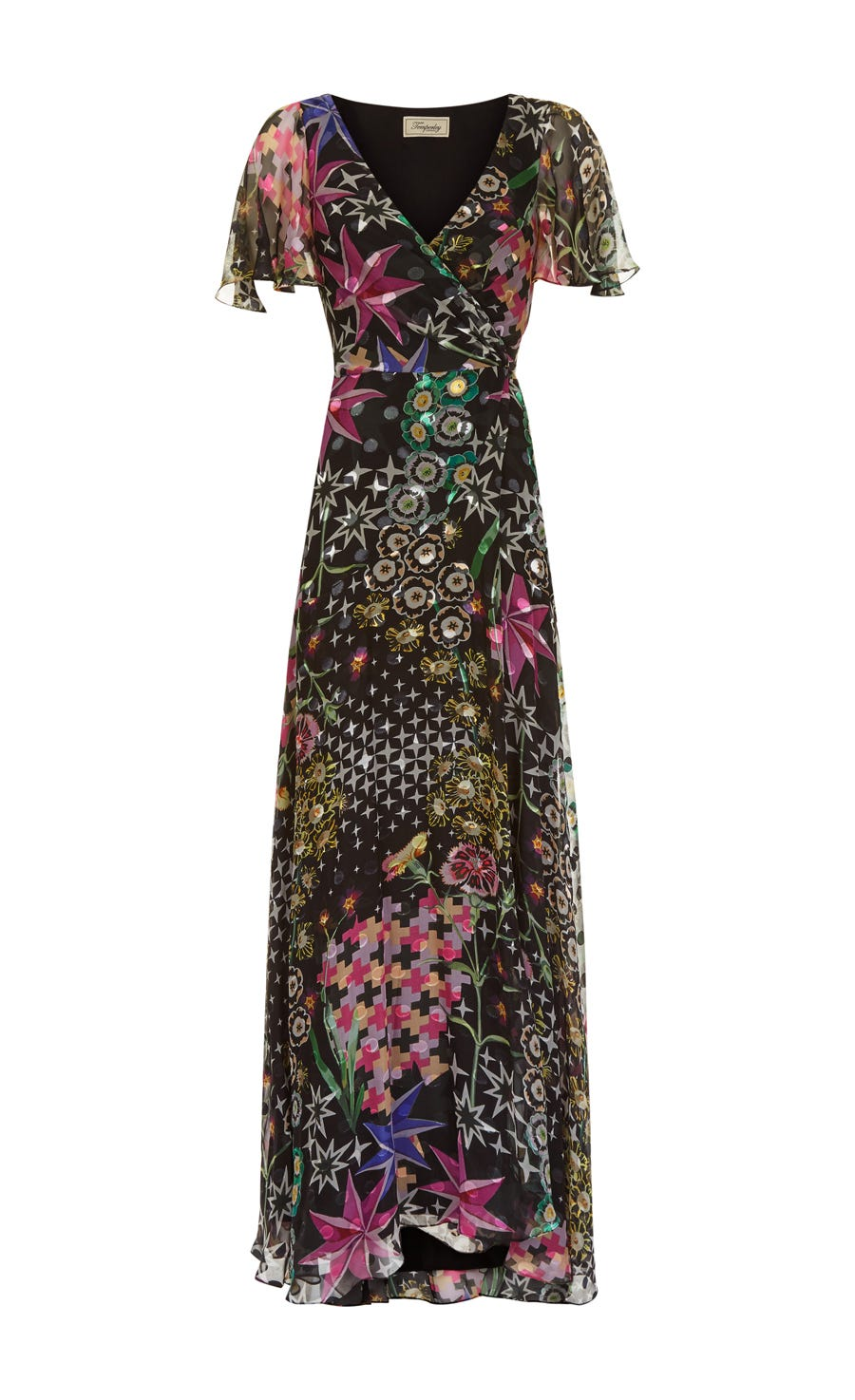 Claudette Wrap Dress