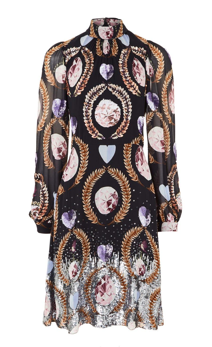 Cosmic Short Dress