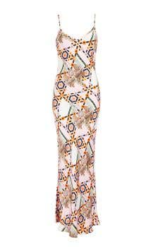 Vivean Print Strappy Dress