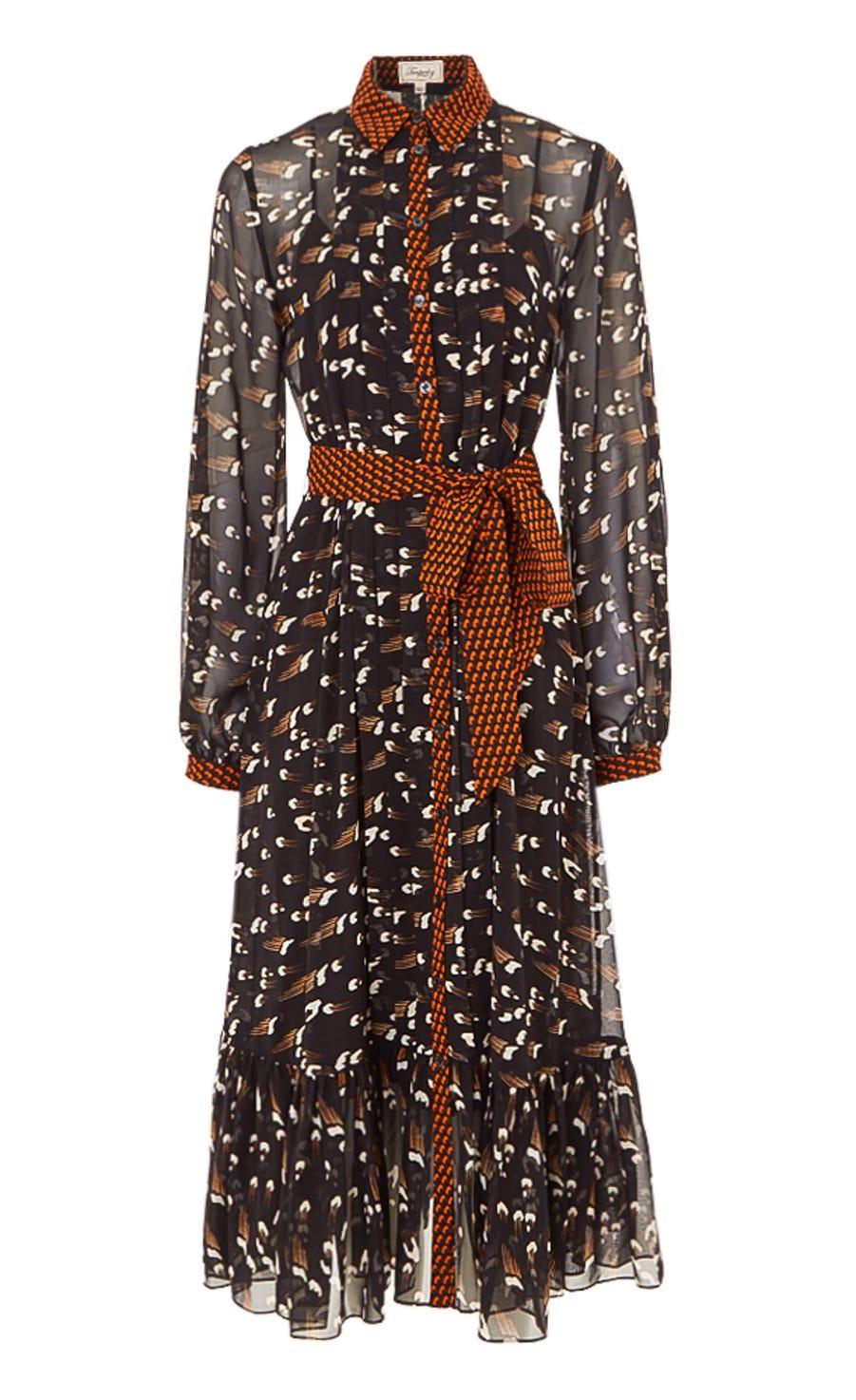 Ethel Print Dress