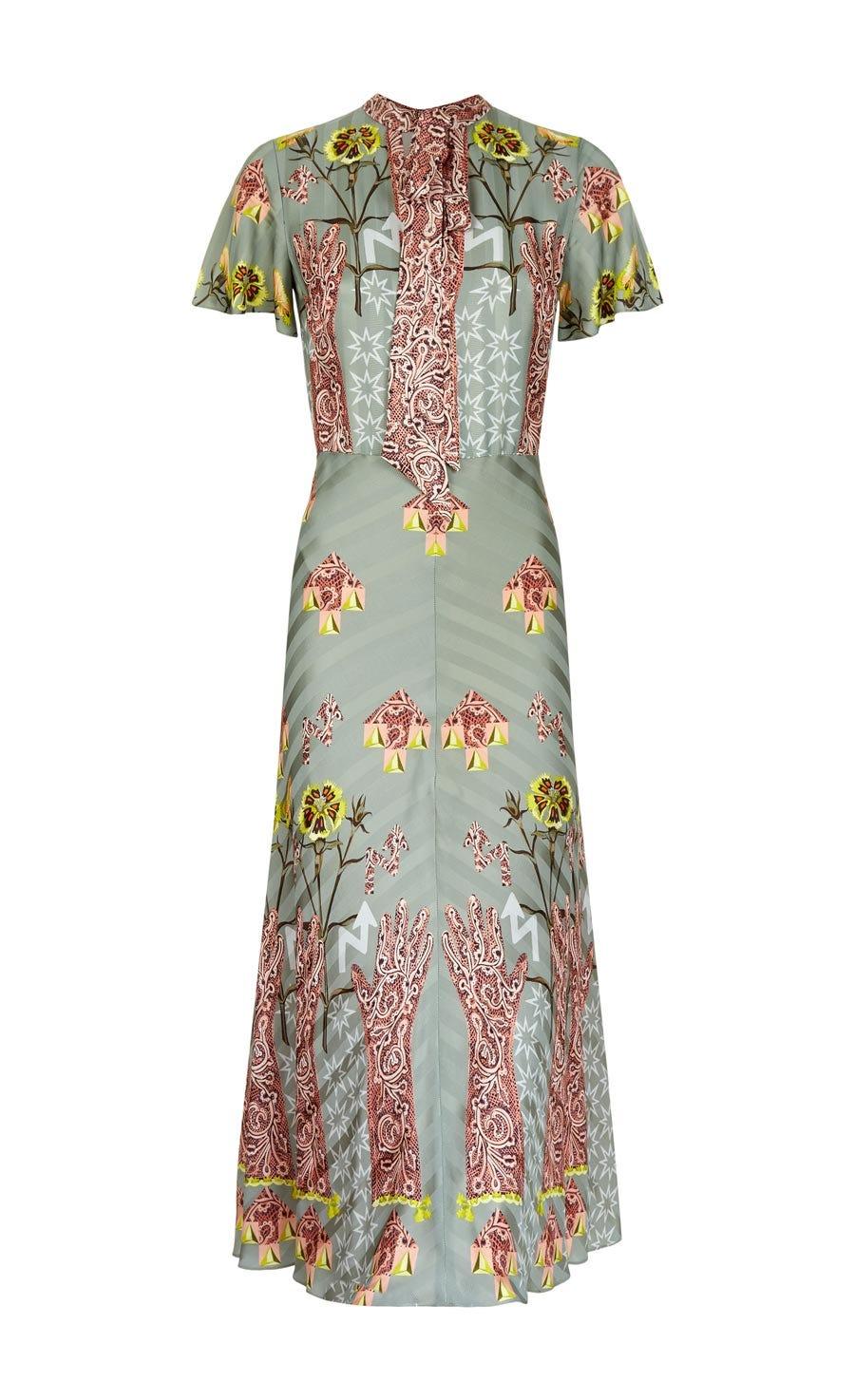 Flux Midi Dress