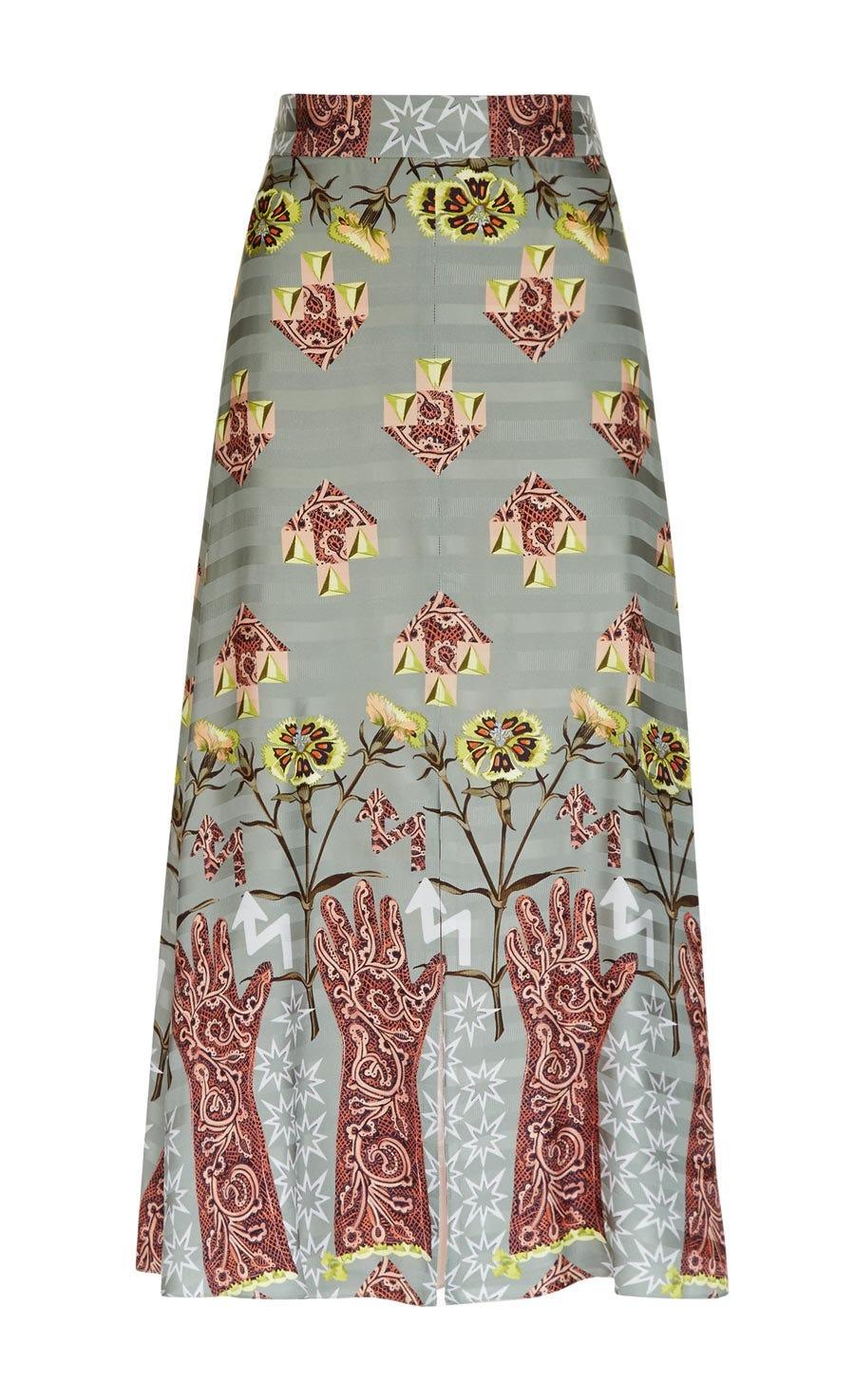Flux Midi Skirt