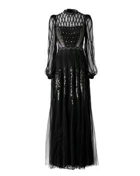 Gene Long Dress