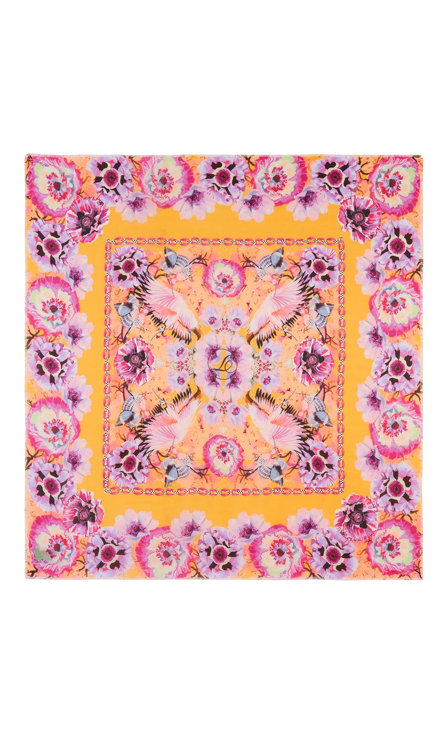 Giselle Printed Cashmere Scarf
