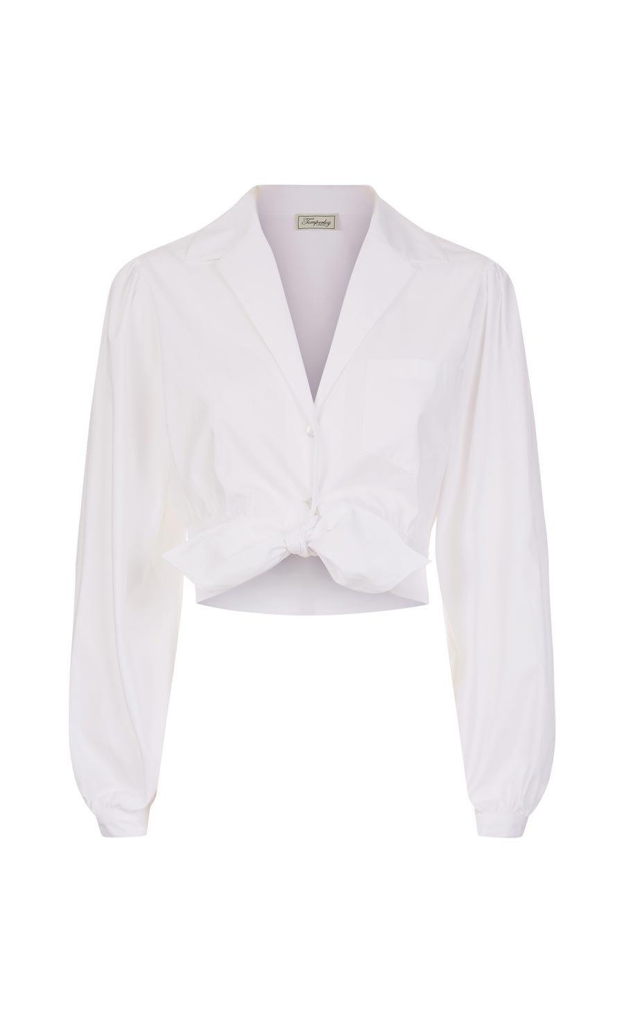 Isla Cropped Shirt