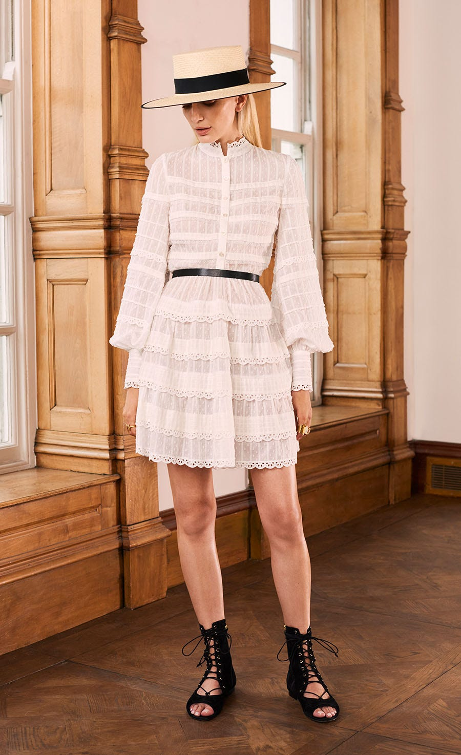 Edith Short Dress