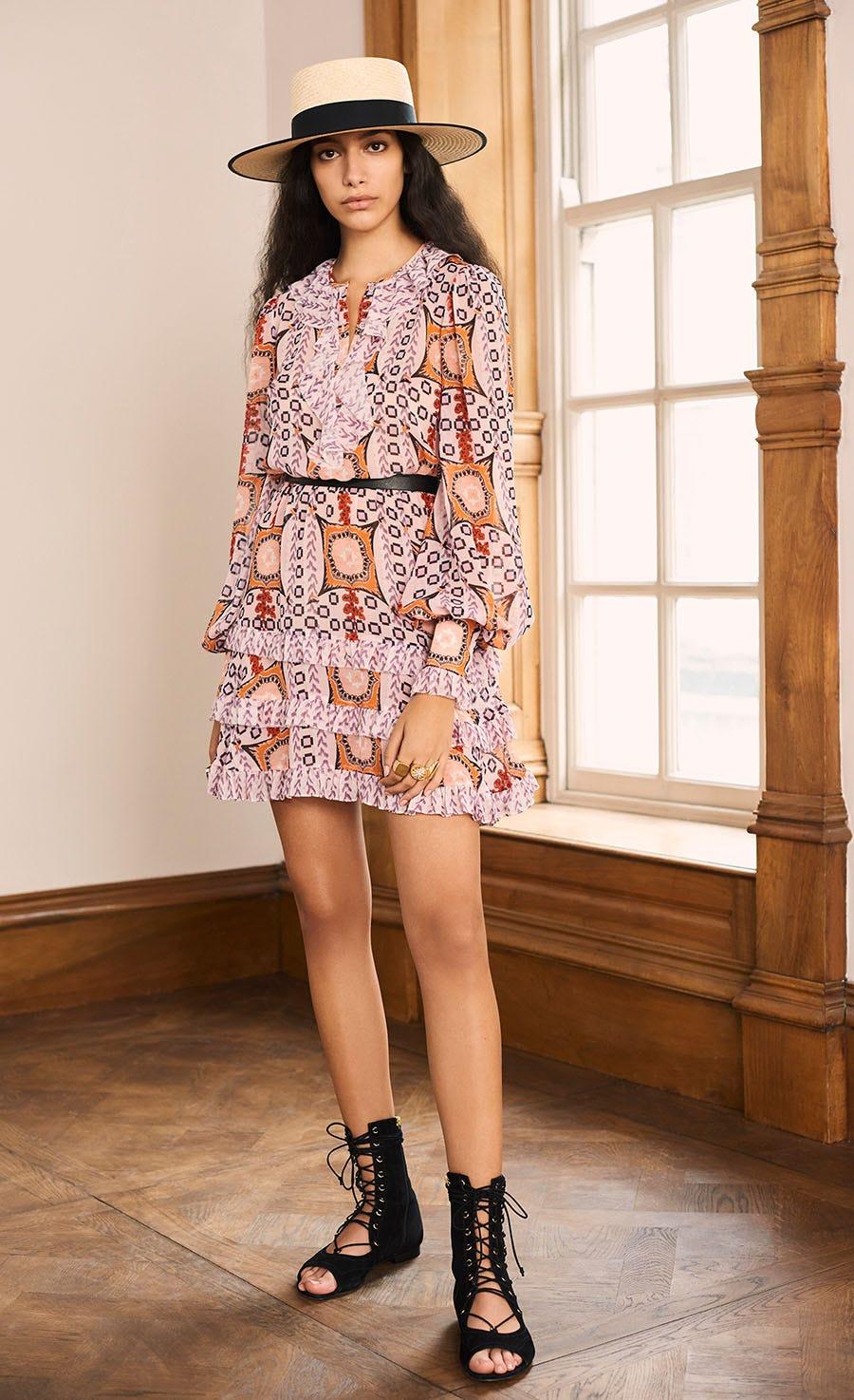 Etoile Printed Mini Dress