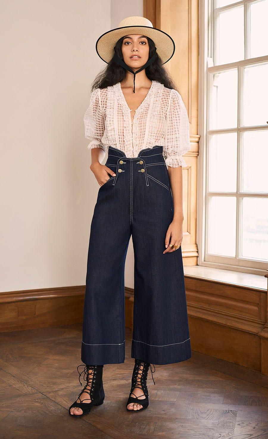 Fontana High Waisted Jean