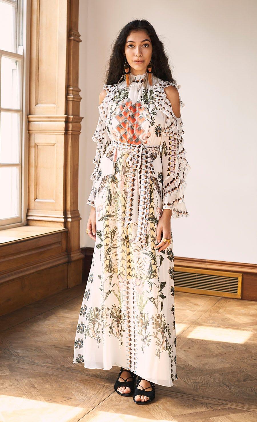 Harmony Print Dress